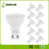 새로운 디자인 4.5W GU10 LED 스포트라이트 3000K 6000K 120 도에 의하여 중단되는 에너지 절약 LED 전구