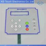 Teclado de gravação tátil do controle de máquina da gasolina da abóbada do metal do OEM