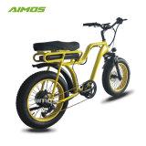 Bicicletta elettrica della gomma grassa unica del modello 48V 750W con la sede comoda