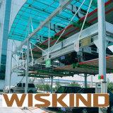 Almacenaje prefabricado de la estructura de acero de Q345 Q235 Wiskind construido en África