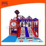 Лондон стиле Funny тематический парк аттракционов мягкой игровой площадкой для установки внутри помещений