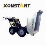 Descargador del mecanismo impulsor de potencia de la maquinaria de construcción mini con el cargamento 300kg
