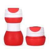 習慣500ml BPAは旅行再使用可能な絶縁された折りたたみコーヒーカップを放す