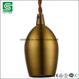 Sostenedor de cobre de la lámpara de Colshine E27 para la iluminación pendiente de la vendimia