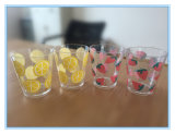 Película de transferência de calor para a taça de fruta transparente