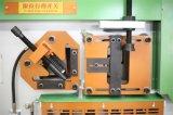 Perfurador do aço Q35y-25 inoxidável e máquina hidráulicos do Ironworker da tesoura