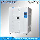 Câmara quente e fria do teste de choque térmico do impato da temperatura (QTS3-40)
