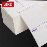 Papel termal de las etiquetas engomadas de las escrituras de la etiqueta de direccionamiento del papel de envío de la logística
