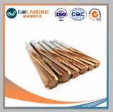 CNC機械のための炭化タングステンの固体リーマー