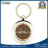 Porte-clés promotionnel en métal de produits pour le logo