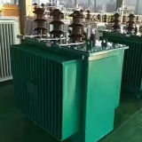 La phase 3 immergée dans l'huile intensifient le transformateur 100kVA dévolteur