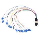 12-24 coeurs MPO à fibre optique câble hydra cordon de raccordement