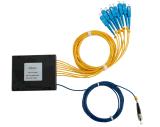 divisore modulare ottico del PLC della fibra 1X8