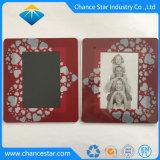 カスタム印刷されたプラスチック写真の挿入エヴァのマウスパッド
