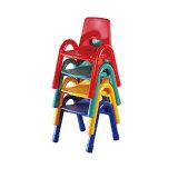 教室学生の家具のプラスチック金属の学校の椅子