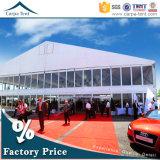 党Wedddingおよびイベントのための美しい800人PVC屋根の二重デッカーのテント