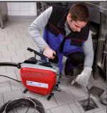 Machine de nettoyage de vidange de coupe électrique 400tr/min avec 370 W du moteur (D150)
