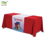 무역 박람회 인쇄된 폴리에스테 테이블 피복 (*NF18F05022)