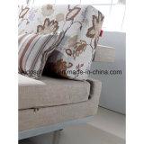 Base de sofá de la tela de la sala de estar del hogar del surtidor de Foshan