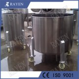 Depósito de agua portátil de acero inoxidable tanque de leche móvil