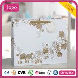 Одежда картины Rose золота белая обувает мешок подарка бумажный