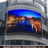 Energía el 50% LED a todo color P6 al aire libre de Saveing que hace publicidad de la pantalla