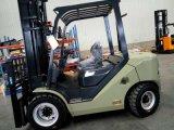 De mini 4ton Vorkheftruck van de Diesel Mast van de Container met 4jg2 Motor Isuzu