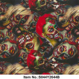 Pellicola rossa no. S044y2644b della signora Skull Water Transfer Printing