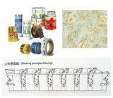 Stampatrice di incisione del documento della stampatrice di rotocalco del film di materia plastica