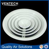 Diffusori rotondi del soffitto del condotto di HVAC, diffusore rotondo rotondo delle griglie di aria