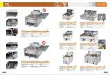 Sartén eléctrica con la cesta 1-Tank 1 que fríe la máquina del alimento con el certificado del Ce