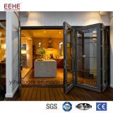 Portello di piegatura di vetro di alluminio dei portelli di piegatura del fornitore cinese