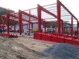 Fácil ensamblar los edificios prefabricados de la estructura de acero