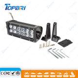 barre droite d'éclairage LED de rangée de 8inch 36W double pour UTV