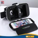 Стекла шлемофона 3D Vr фактически реальности Vr Shinecon нового поколения для 4~6 дюймов Smartphones для киноих 3D и игры с регулятором