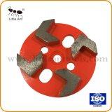 4'' металлические алмазные шлифовальные диски с помощью стрелки сегментов для конкретных