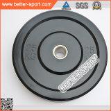 De olympische Plaat van de Bumper van Weightlifting van de Geschiktheid Rubber, Plaat Barbell voor Crossfit