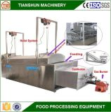 Macchina di frittura continua Heated del gas Pieno-Automatico e friggitrice profonda commerciale