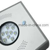 新しい到着のPIRセンサーが付いている経済的な8W太陽街灯