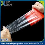 Ruban adhésif dégrossi acrylique transparent de PVC de RoHS double