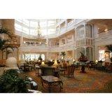 Estrela personalizada lobby de hotel de luxo sofá de mobiliário para venda