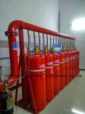 Sistema automático FM200 del extintor de la red del tubo para la sala de ordenadores