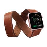 Para Amazon superventas de la banda de Reloj de cuero para Apple ver