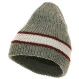 Le Beanie fait sur commande de manchette de Knit folâtre le chapeau d'homme de l'hiver de chapeau