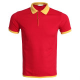 Plaine de gros personnalisé de haute qualité hommes polo t shirts avec logo du client