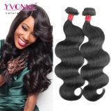 Ивонна волосы продуктов 8A Virgin Бразильский орган человеческого волоса кривой