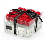 Cadeau de jour de Noël de vase à décoration de fleur