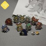 L'émail de dessin animé personnalisé récompenses promotionnelles Épinglette Cat insigne métallique