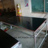 Fase móvil de acero de alta calidad excelente Etapa de acero