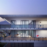 발코니 Alumium 유리제 방책 디자인
